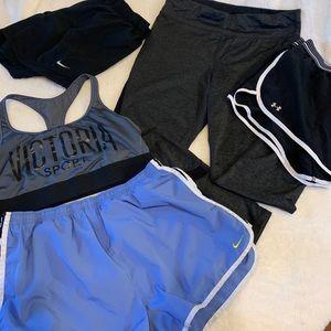 Workout bundle! Nike, adidas, Victoria secret.